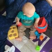 Babykleed voor Max