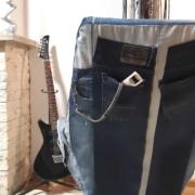 Opnieuw bekleed met eigen jeans