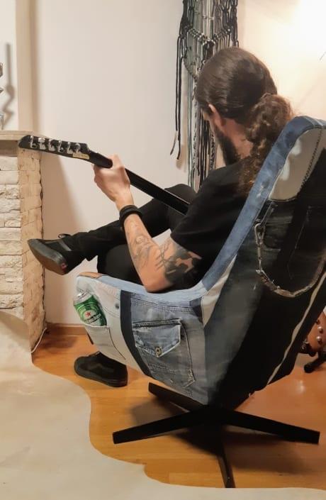 ReConstructed stoel in actie!